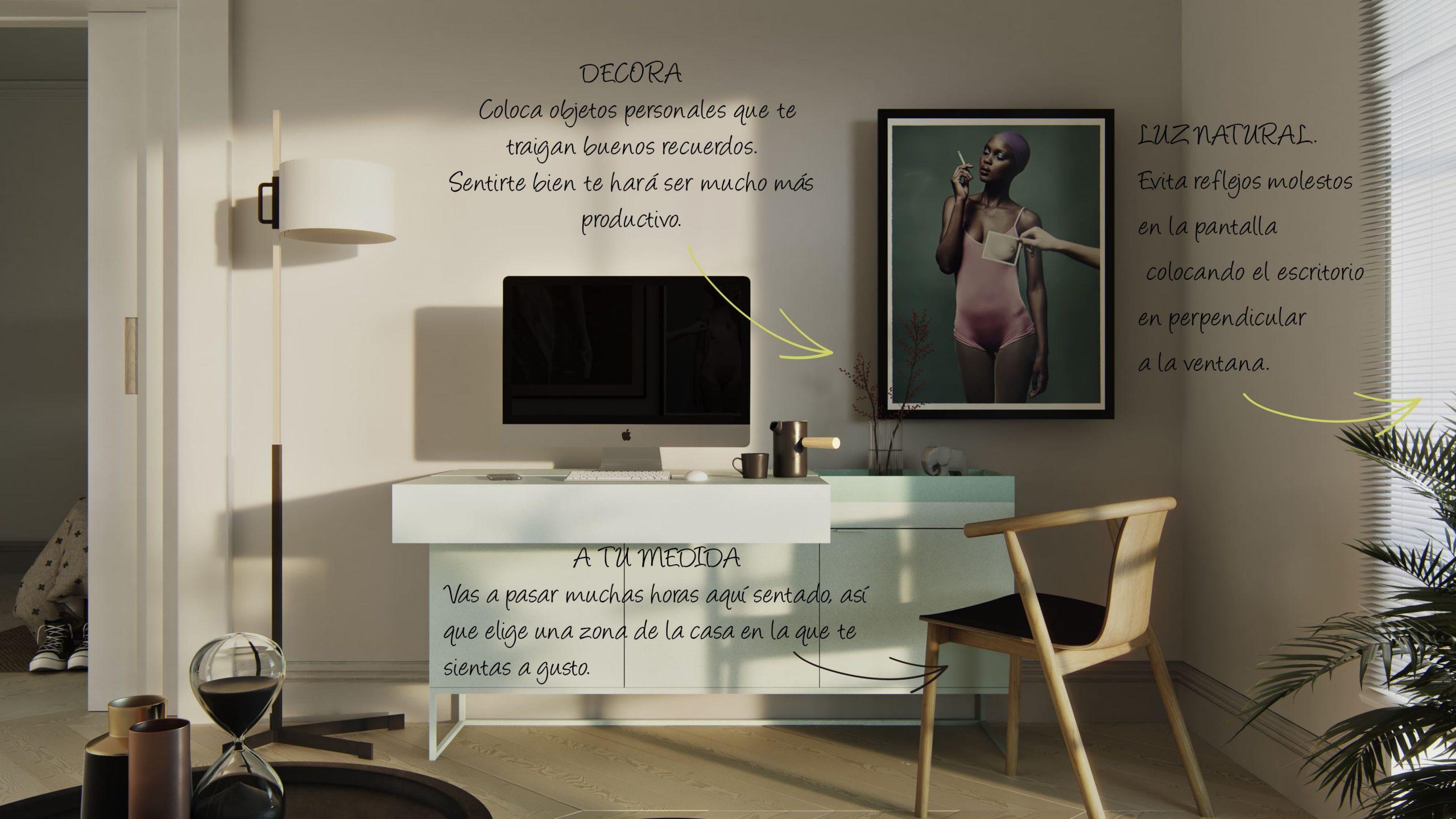 mi oficina en casa - BAU Turquesa Menta