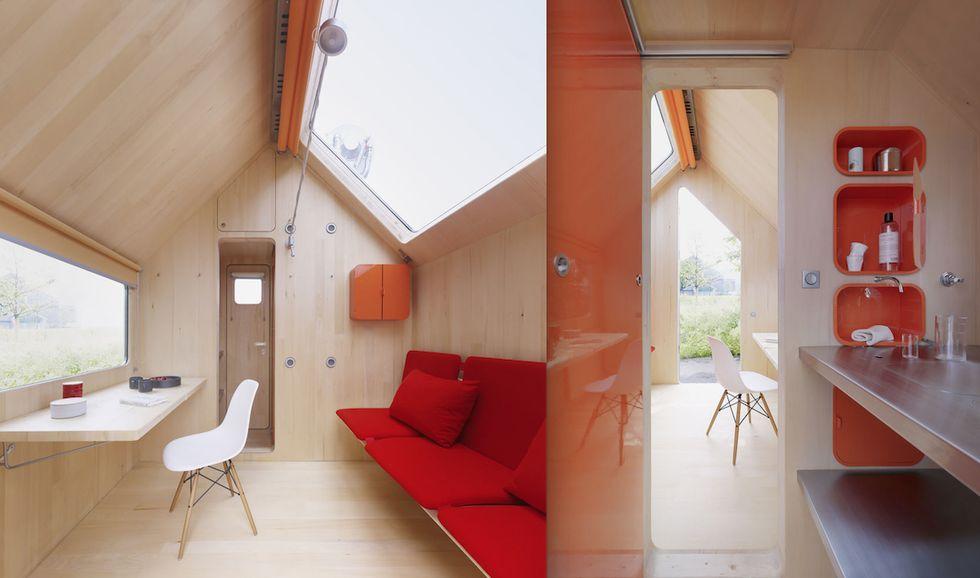 minicasas - Renzo Piano para Vitra